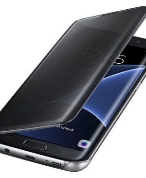 Bao da Samsung Galaxy S7 edge clear view silicon trong suốt
