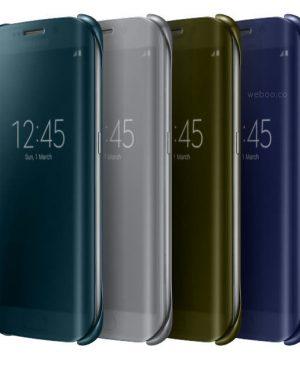 Bao da Samsung Galaxy S6 Edge Clear View Cover chính hãng