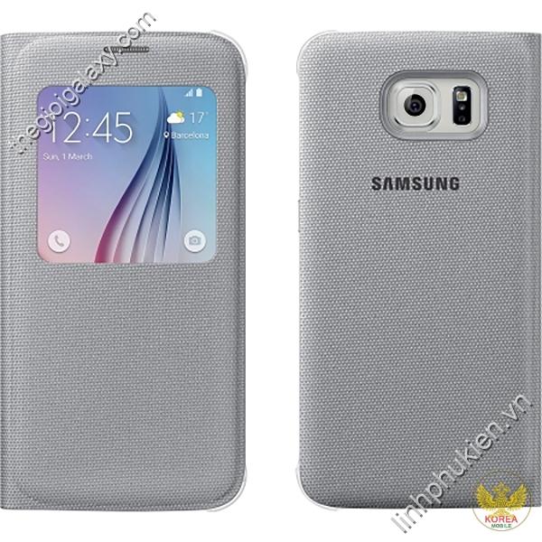 Bao da Samsung Galaxy S6 Fabric S View Cover