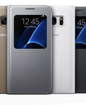 Bao da Samsung galaxy S7 Edge S view cover chính hãng