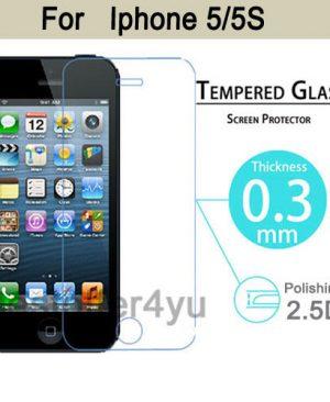 dán kính cường lực màn hình iphone 5 5s