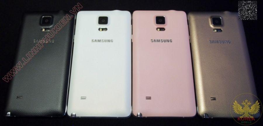 Nắp Lưng Samsung Galaxy Note 4 chính hãng