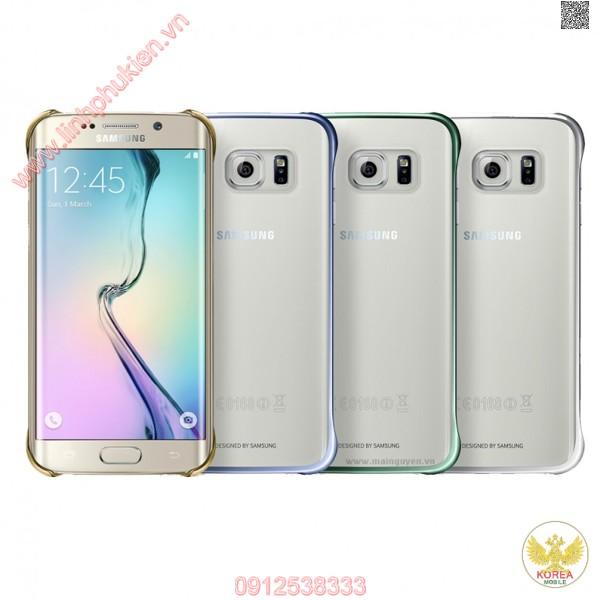 Ốp lưng Clear Cover Samsung Galaxy S6 edge chính hãng