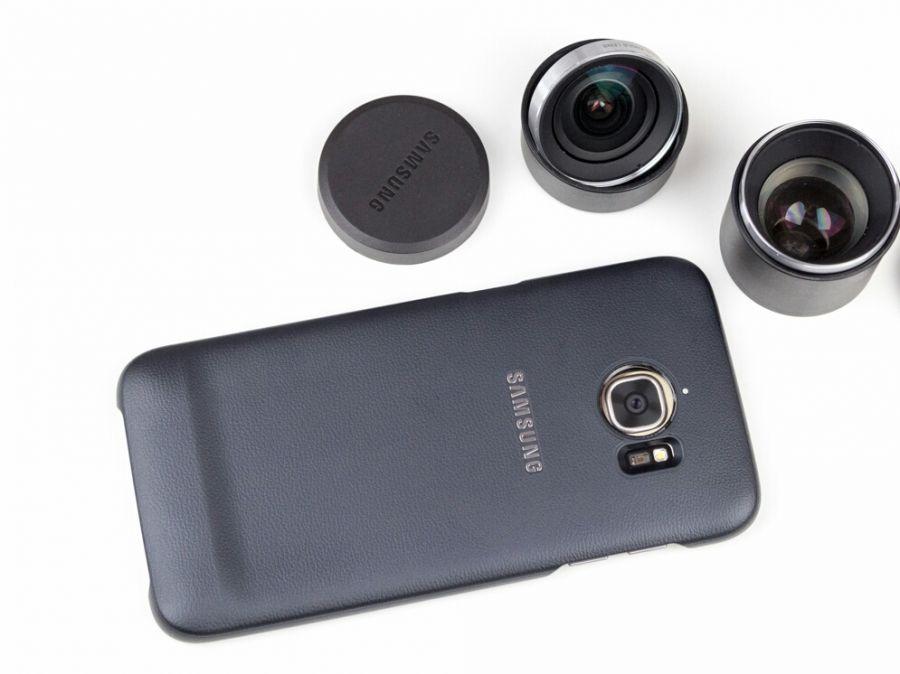 Ốp lưng gắn Lens Samsung Galaxy S7