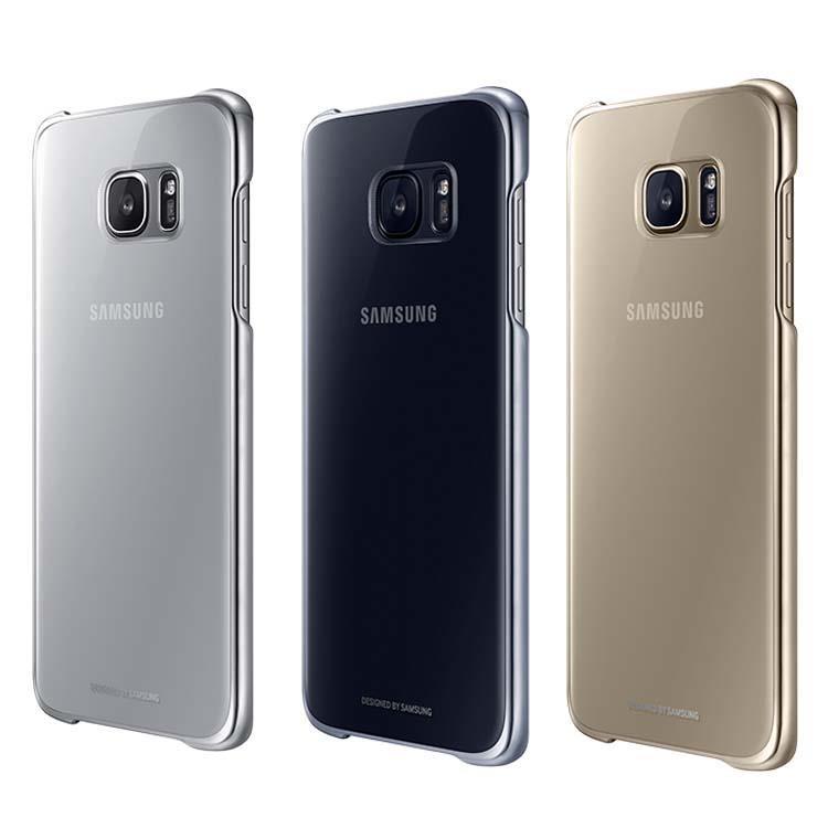 Ốp lưng nhựa trong Samsung Galaxy S7 Edge Clear Cover