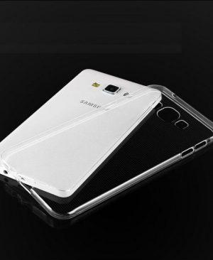 Ốp lưng Samsung Galaxy A8 silicon trong suốt
