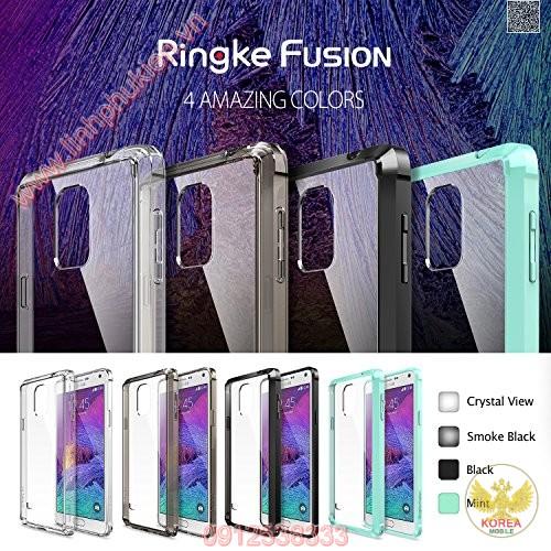 Ốp lưng Samsung Galaxy Note 4 Ringke Fusion