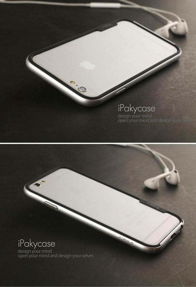 Ốp viền iphone 6Plus iPaky silicon
