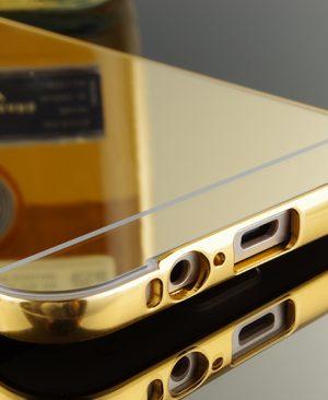 Ốp viền kèm nắp lưng gương Samsung Galaxy A8