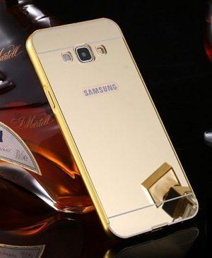 Ốp viền kèm nắp lưng gương Samsung Galaxy E7