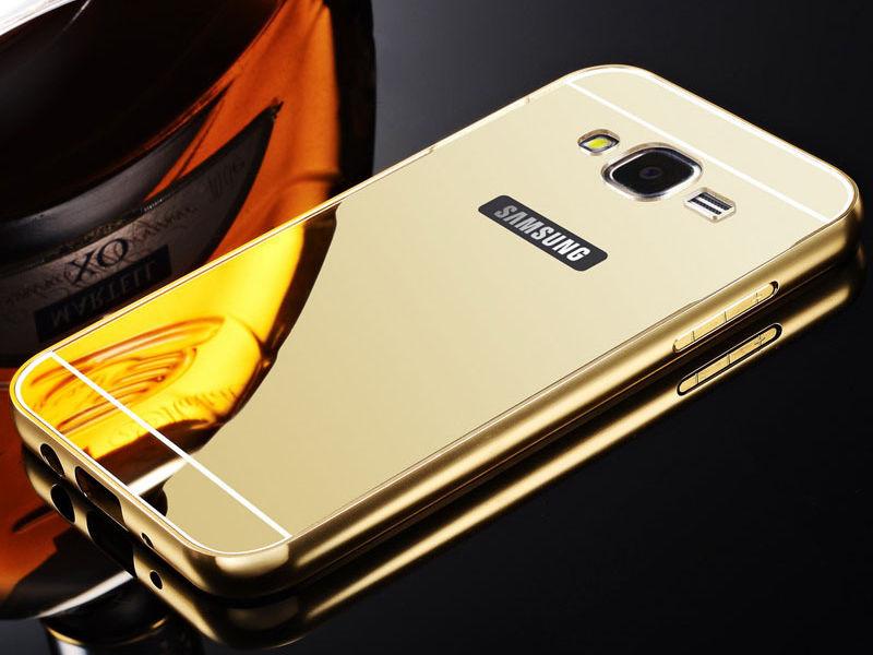 Ốp viền kèm nắp lưng gương Samsung Galaxy J3