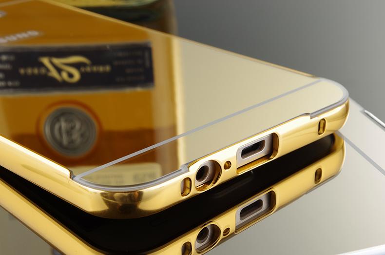 Ốp viền kèm nắp lưng gương Samsung Galaxy S6