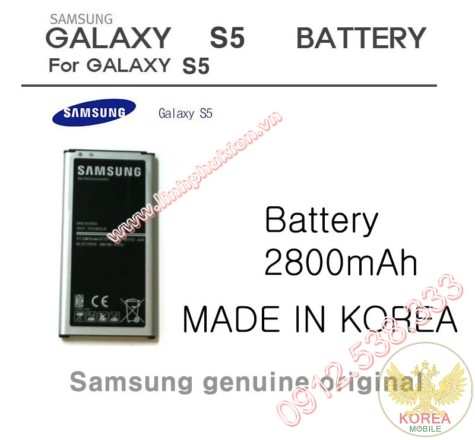 Pin Samsung Galaxy S5 I9600 G900