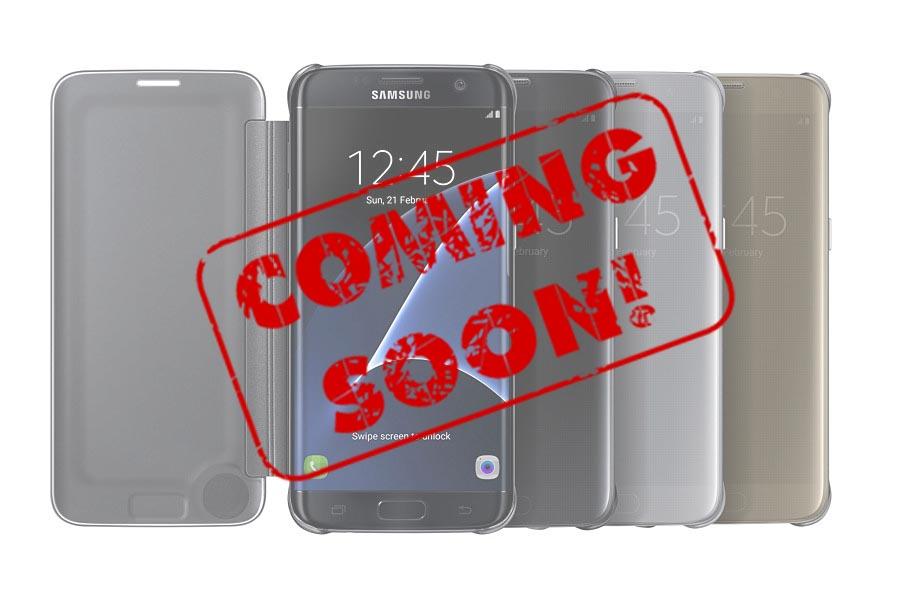 Bao da Samsung Galaxy S8 edge clear view cover